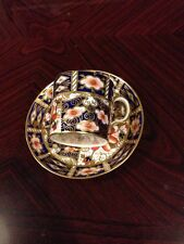 Beautiful Crown Derby Imari Cup And Saucer Dating To 1927 - Stunning!!