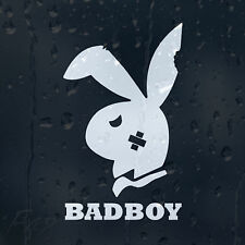 Funny Bad Boy Play Bunny Car Decal Vinyl Sticker For Bumper Or Window Or Panel
