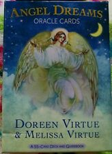 NEW Doreen Virtue Angel Dreams Oracle Cards Deck-Opened,Not Used