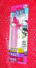 pez My Melody on Hello Kitty Menu card