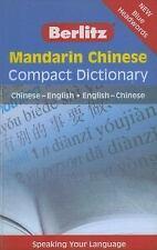NEW - Mandarin Chinese Compact Dictionary: Chinese-English/English-Chinese