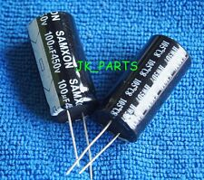 5pcs 100uF 450V 105°C Radial Electrolytic Capacitor 18x35mm