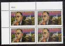 Scott  #3134...32 Cent...Thornton Wilder...5 Plate Blocks of 4...20 Stamps