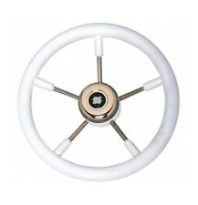 Ultraflex V57 White Soft Grip 350mm Boat Steering Wheel