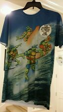 TEENAGE MUTANT NINJA TURTLES TMNT MENS SUBLIMATED TSHIRT SIZE M L SHREDDER SDCC)