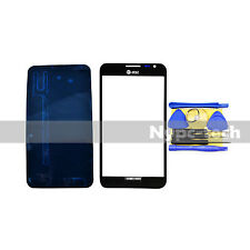 Black For Samsung Galaxy Note 1 SGH-i717 Replacement Screen Glass Lens + Tools