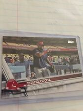2017 Topps Series 1 David Ortiz SSP rare Red Hat Dodgers Stadium # 350 Red Sox