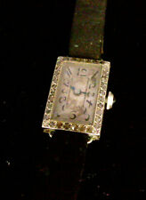 MONTRE DAME OR BLANC ET DIAMANTS - 10.30G