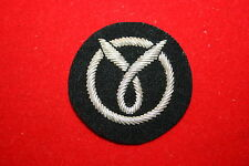 COPY WW2 FRENCH  FRANCAISE MILICE BERET HAT CAP BADGE VICHY BULLION WIRE