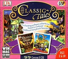 CLASSIC TALES - Land of Oz & Beauty or the Beast - 2x PC/MAC Adventure Game NEW!