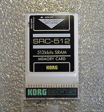 KORG Ram Scr-512 Nuova  x Korg 01W/01Wfd  Caricati Suoni Korg  01W