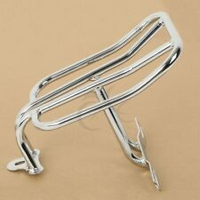 Chrome Luggage Rack For Harley Davidson Dyna Low Rider Street Bob Super Glide
