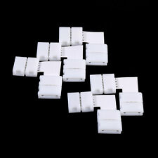 5Pcs L Shape 4pin Solderless Corner Connectors For RGB 5050 LED Strip Lights ES