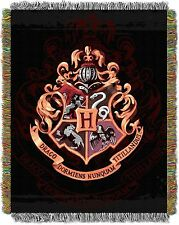 Harry Potter Hogwarts Dcor 48-Inch-by-60-Inch Acrylic Tapestry Throw by The N...