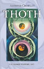 Aleister Crowley Thoth Tarot NEW Sealed 78 Cards Deck Egyptian Myth Divination