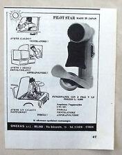 E327-Advertising Pubblicità-1963 - PILOT STAR VENTILATORE,ASPIRAPOLVERE,TORCIA