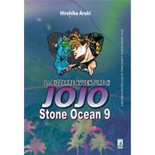 LE BIZZARRE AVVENTURE DI JOJO - STONE OCEAN 9 DI 11 - STAR COMICS NUOVO