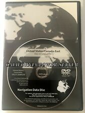 2005-2013 Chevy Corvette Cadillac STS Saab 9-5 Navigation DVD Version 7.00 East