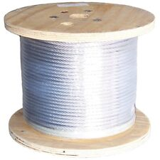 """1/4"""" inch EHS Guy Wire Strand ROHN Tower Down Guy 1000' FT Foot R-1/4EHS1000"""