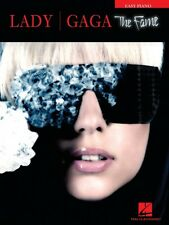 Lady Gaga The Fame Sheet Music Easy Piano Book NEW 000307182
