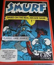 NEW SMURF Game for Atari 2600 PAL VERSION NOT FOR USA OR CANADA