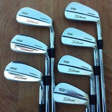 Titleist MB 710 Iron Set 4-PW, Stiff Flex Steel Dynamic Gold S300 Shafts!