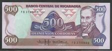 Nicaragua P-155 500 Cordobas 1985 Unc