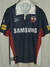 MAGLIA SHIRT TRIKOT MAILLOT RUGBY SPORT SIDNEY ROOSTERS n° 4