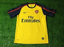 ARSENAL LONDON ENGLAND 2008/2009 FOOTBALL SHIRT JERSEY AWAY NIKE ORIGINAL SIZE S