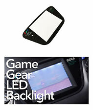 SEGA Game Gear Backlit Backlight Back Light + SEGA Game Gear Glass Screen Lens
