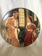 """""""The End Of An Era"""" THE PASSIONS OF SCARLETT O'HARA Gone With The Wind Plate"""