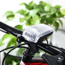 4-LED Solar Bike Head Light Front Torch Lamp Outdoor Equipment AUS