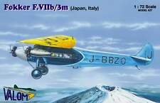Valom 1/72 Model Kit 72071 Fokker F.Vib/3m in Japanese and Italian markings