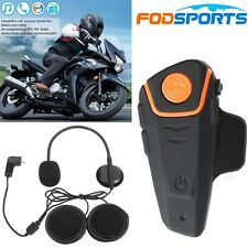 1000m BT-S2 Motorbike BT Bluetooth Helmet Headset Interphone Intercom + FM Radio