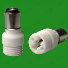 Small Bayonet SBC B15 To G9 Light Bulb Adaptor Lamp Base Socket Converter Holder