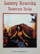 Lenny Kravitz: Heaven Help (Piano/Vocal/Guitar Sheet Music) - MINT CONDITION!