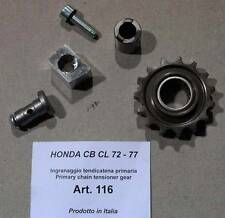 Honda CB CL 72 77 Cappellini #116 primary chain tension sprocket ONLY conversion