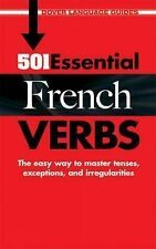 501 Essential French Verbs (Dover Language Guides French),McCoy, Heather,New Boo