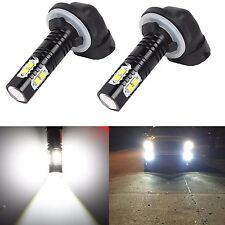 JDM ASTAR 2x 50W CREE 881 889 6000K Super White LED Fog Driving DRL Lights Bulb