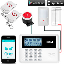 KERUI 5900G Android IOS App Wired 2G GSM Alarm System Home/Office Security