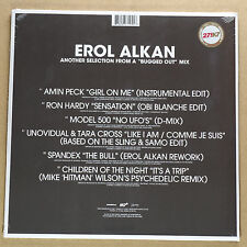 EROL ALKAN - Bugged out / Bugged in MIX **Vinyl-2LP**NEW**