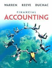 Financial Accounting by Carl S. Warren, James M. Reeve and Jonathan Duchac. Used