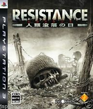 Used PS3 RESISTANCE SONY PLAYSTATION 3 JAPAN JAPANESE IMPORT