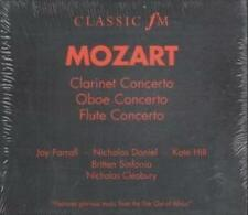 Wolfgang Amadeus Mozart : Clarinet, Oboe & Flute Concerto (CD 1997)  ** NEW **
