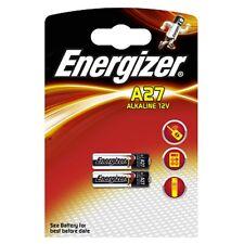 2 x Energizer A27 12V batterie 27A MN27 GP27A E27A EL812