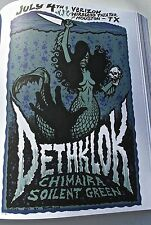 Dethklok  Mini Concert  Poster Poster  for 2008 Houston TX Gig 14x10