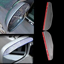 Car Rear View Side Mirror Rain Sun Snow Shielding Cover Transparent