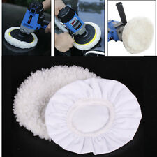 2 Pcs Polishing Bonnet Buffer Polishing Pad For 8inch & 9inch Car Polisher