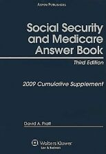 Social Security and Medicare Answer Book : Cumulative Supplement by David A....