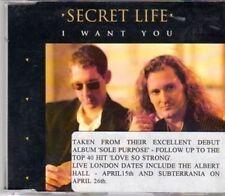(DH622) Secret Life, I Want You - 1994 DJ CD